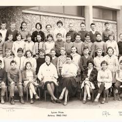 1960-61 6A2 avec Mmes Salanski et Moulac