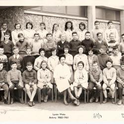 1960-61 6M3 avec Mme Lomadzé (ScNat)