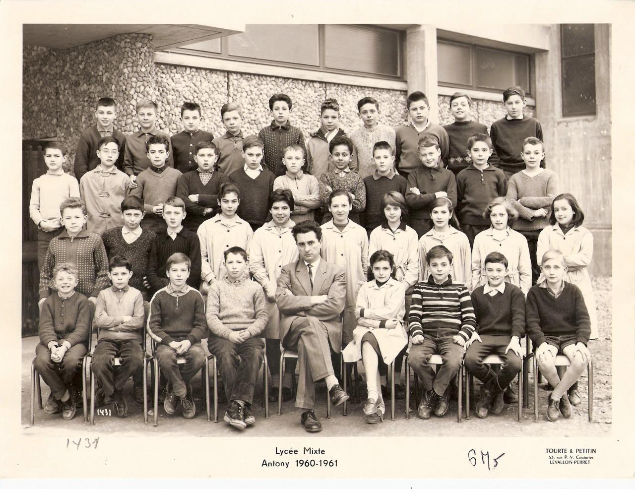1960-61 6M5 avec M. Dion