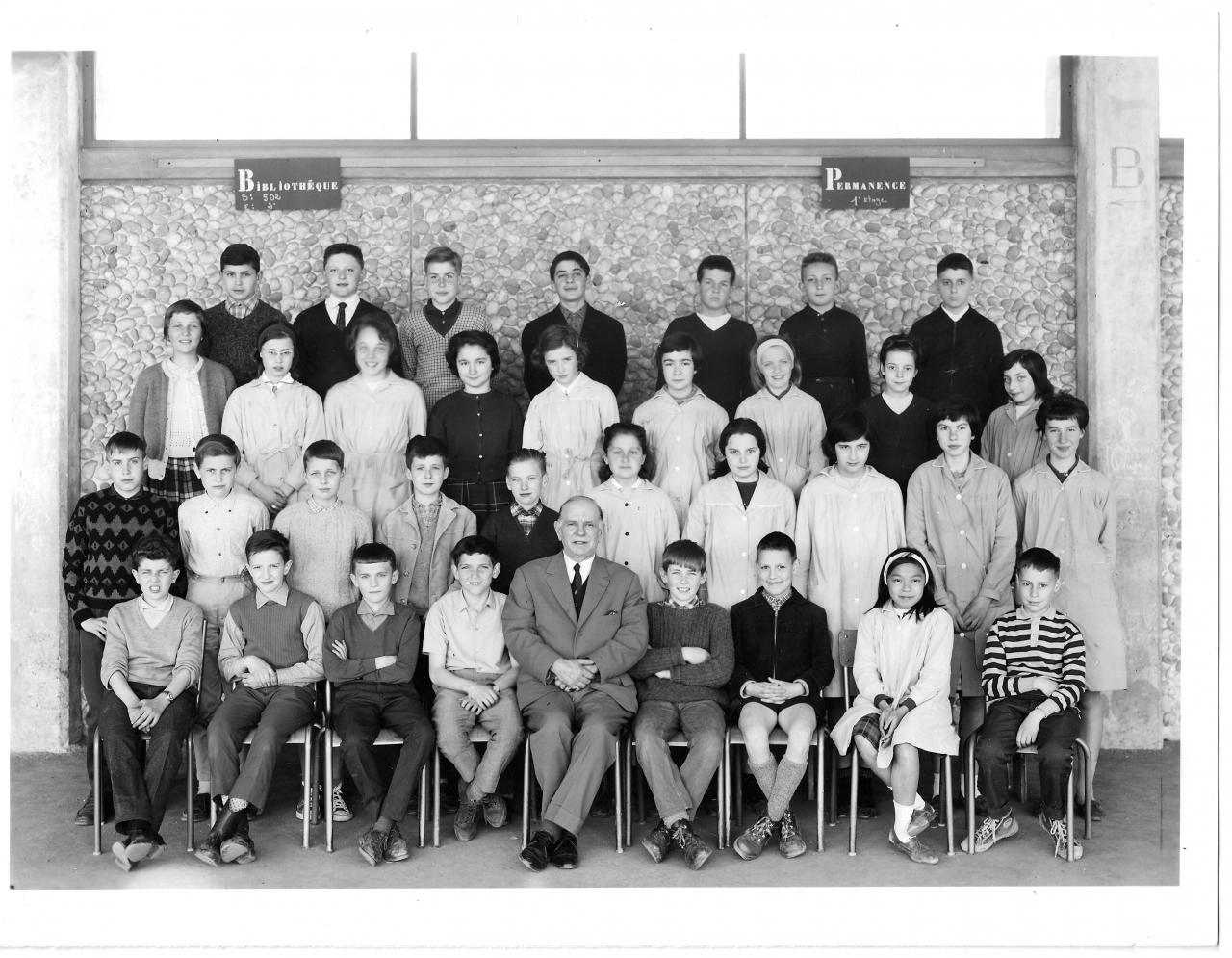1962-63 5A1 avec Monsieur Segot