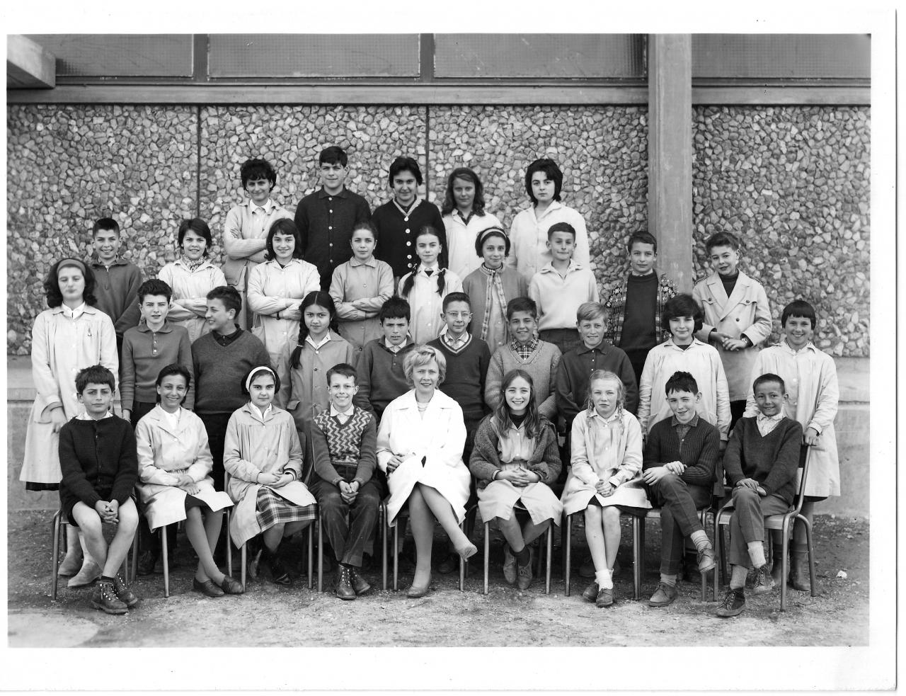 1962-63 5A2 avec Madame Caire