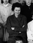 En 2014 : Madame CHARRON, professeur de Mathématiques.