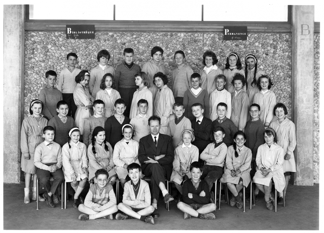 1962-63 6A1, avec Monsieur Jacob