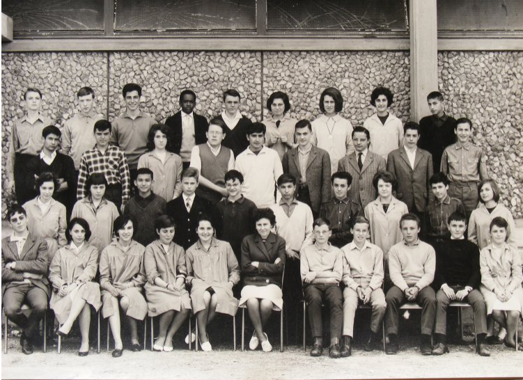 1963-64 3M avec Madame Charron