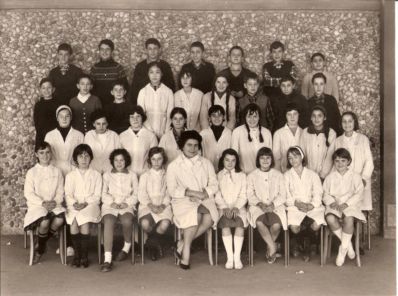 1963-64 - 5M2, avec Madame Bouillon