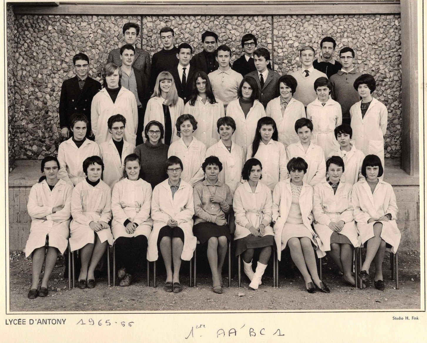 1965-66 1 AA'BC1 avec Mme Allamigeon