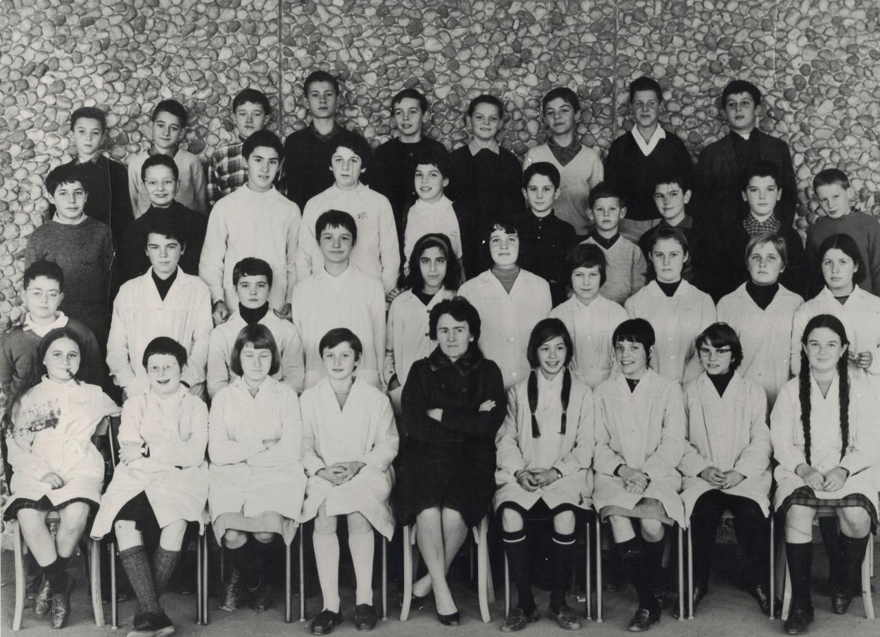 1965-66 5A2 avec Madame CHARRON