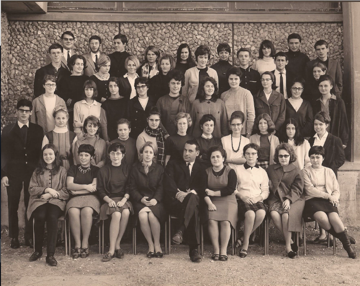 1965-66 Hypokhâgne, avec Monsieur Monneron