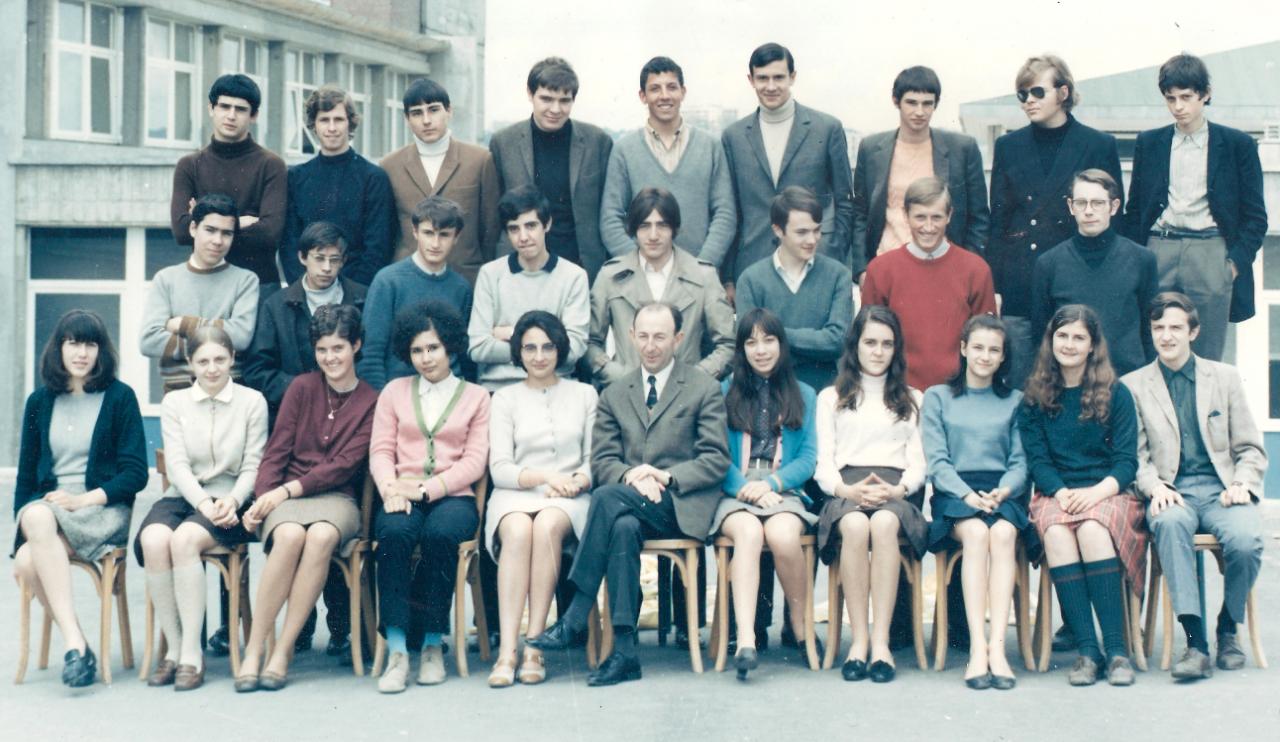 1968- 1D11 avec Monsieur Boucheron