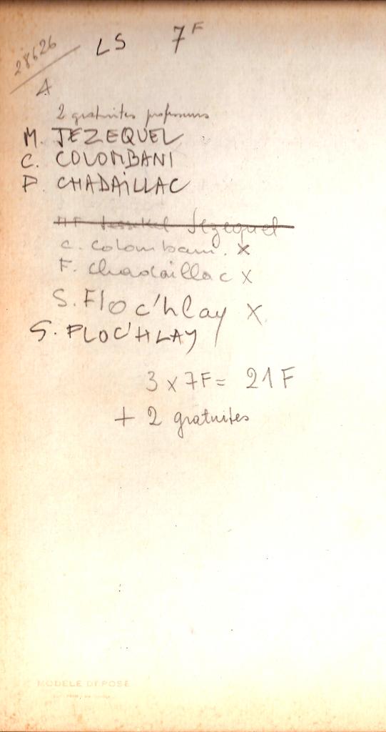 1968 - LS - Noms