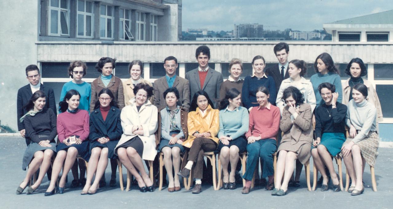 1968 - LS avec Mmes Salanskis et Allamigeon