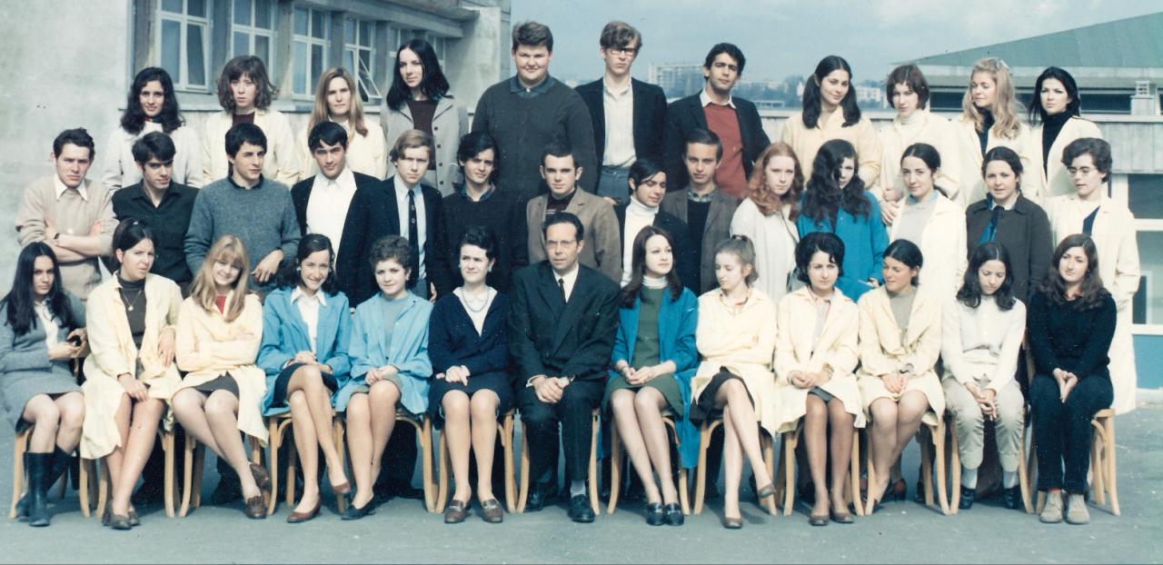 1968- TA4 avec Monsieur DUPUY