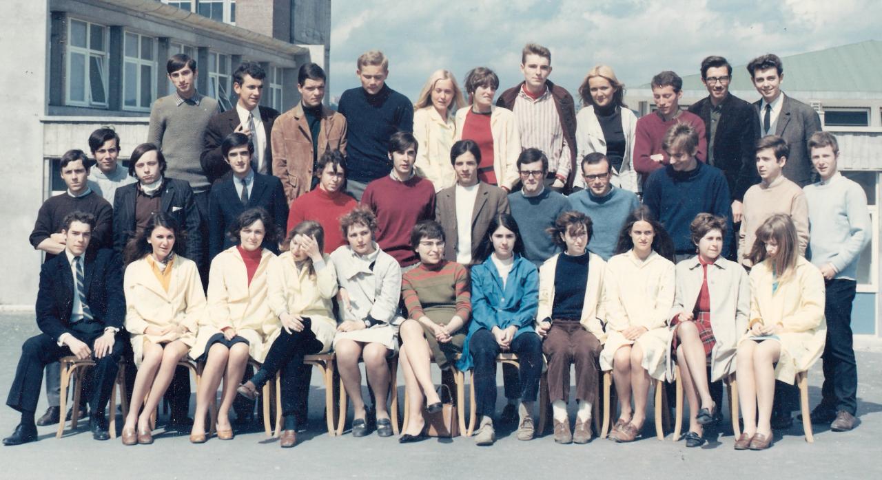 1968 - TD1 avec Madame ADAM