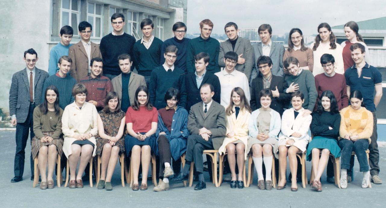 1967-68 - TD2 avec Monsieur BOUCHERON