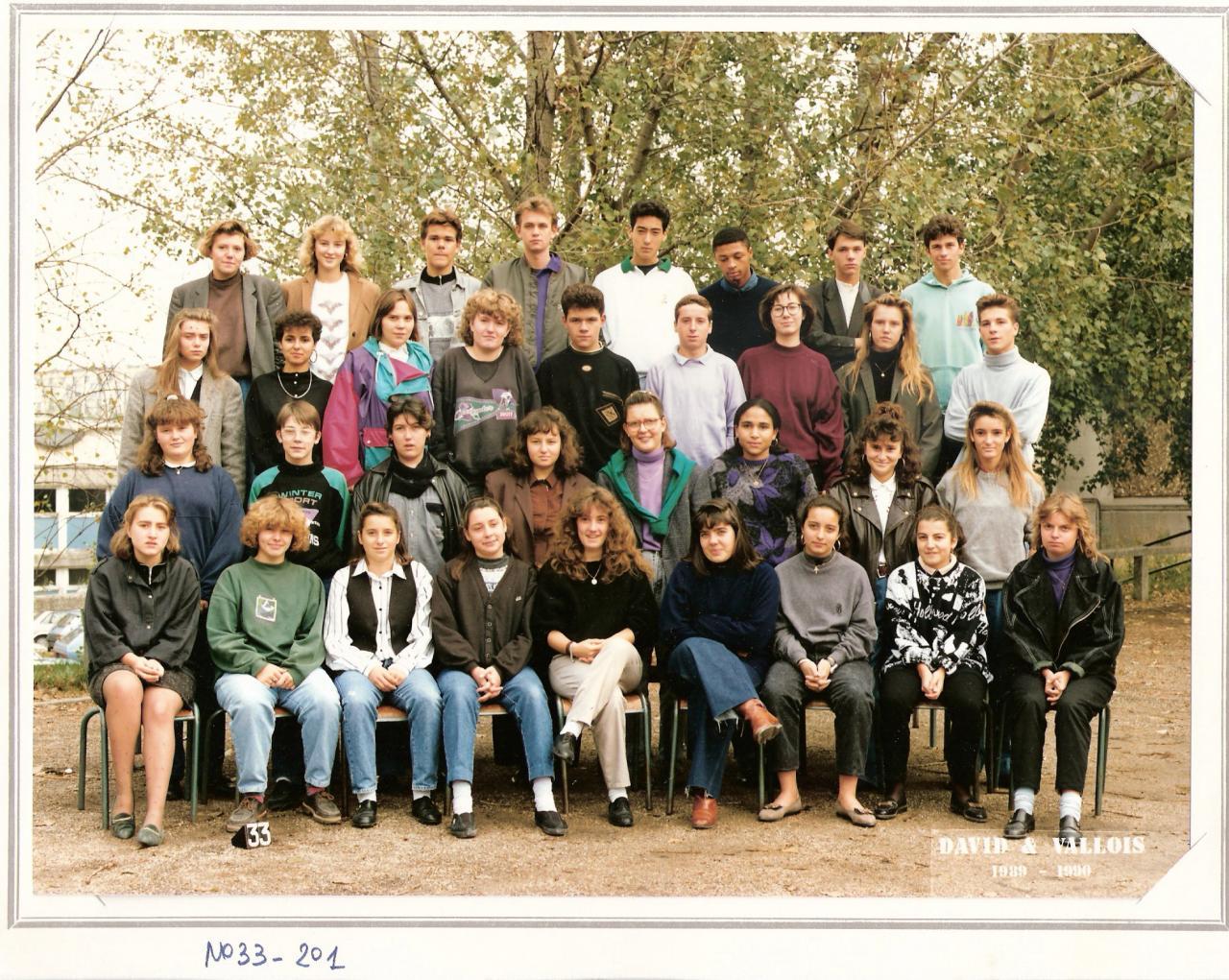 Classes années 90-94