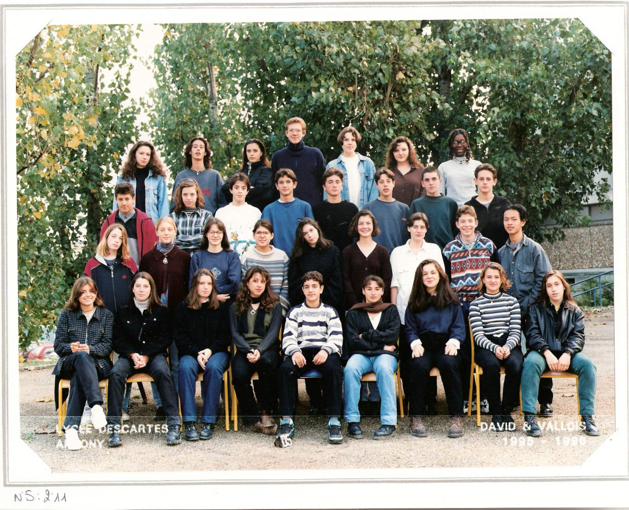 1996 - 2nde 11