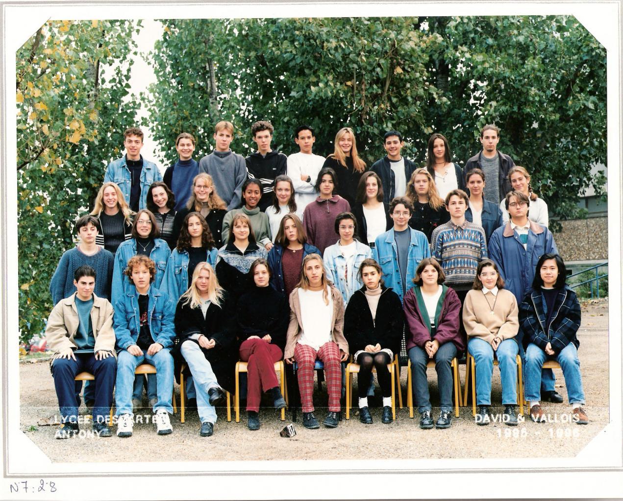1996 - 2nde 8