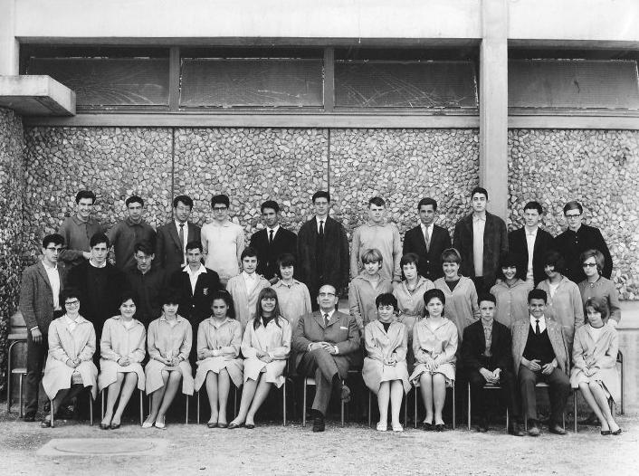 1963-64 2 M4, avec Monsieur SUANT