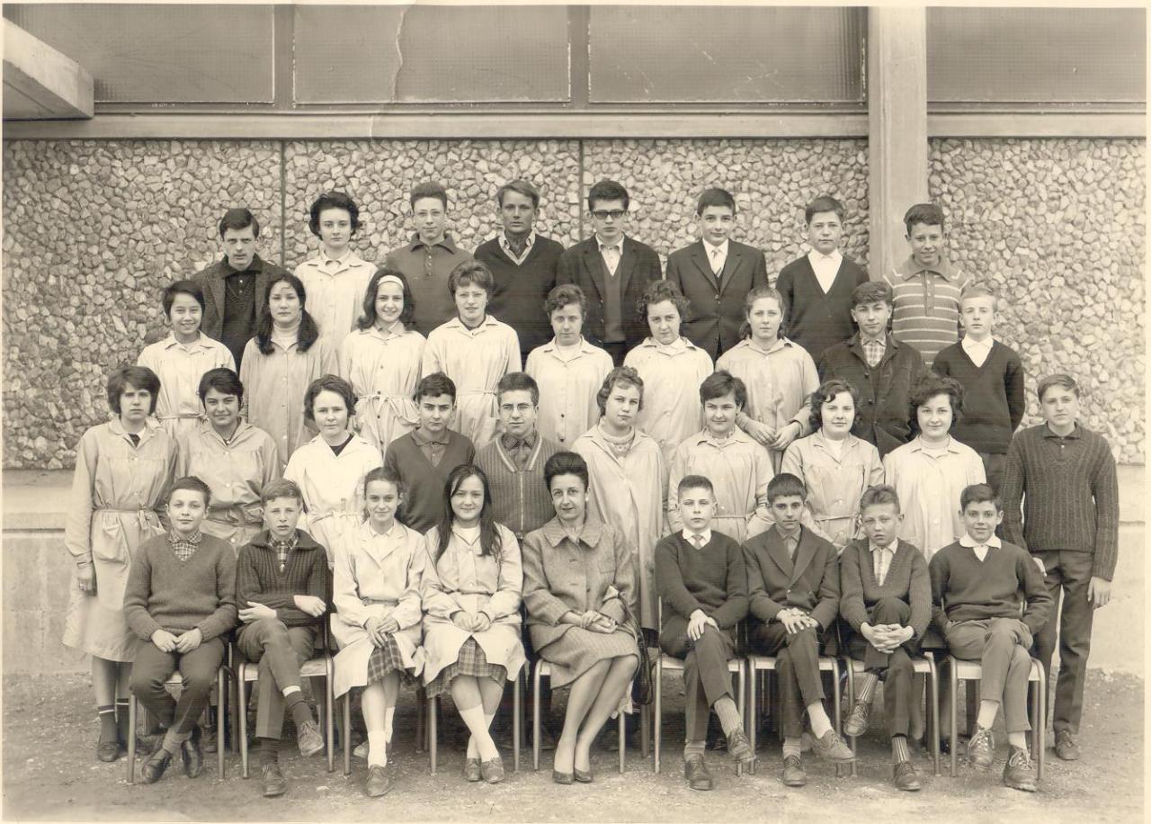 1962-63 4 B? avec Madame Jeanpierre