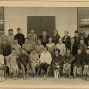 1958-59 6 ème avec Mme Pétriment