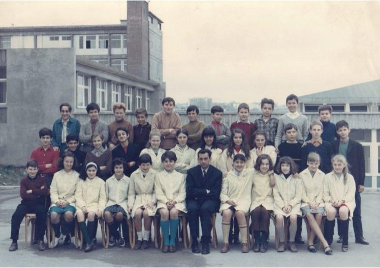 1967-68 5 M2 avec Monsieur Robert