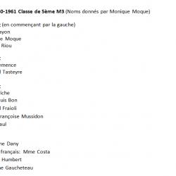 1960-61 5M3 Noms