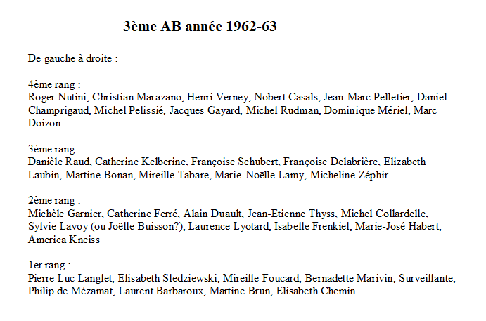 1962-63 3AB Noms