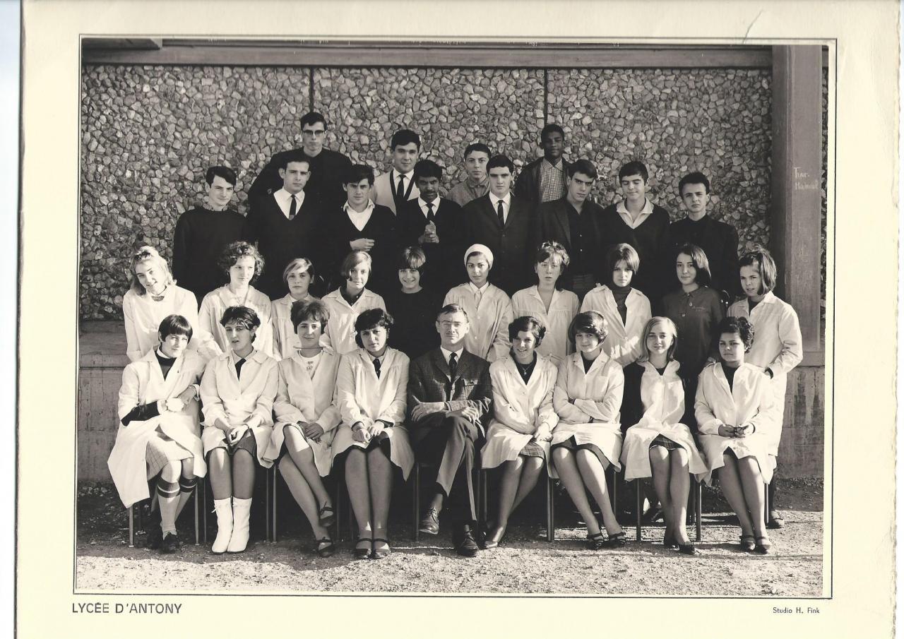 1965-66 2A7 avec Mr GROSJEANNE