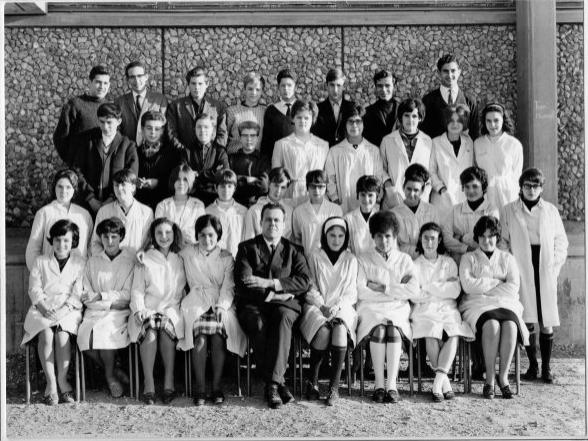 1965-66 2AC8 avec Monsieur Bes