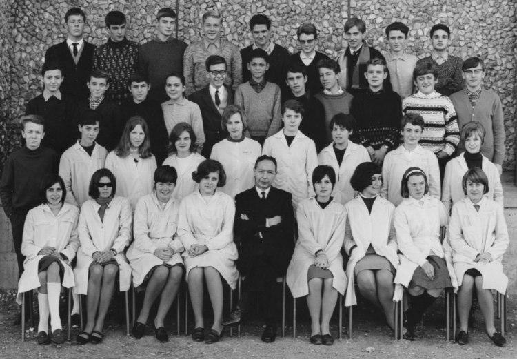 1965-66 2C9 avec Monsieur Duché
