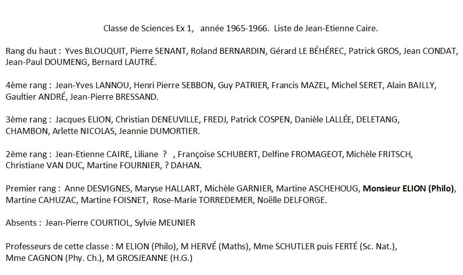 1965-66 Noms Sc Ex 1