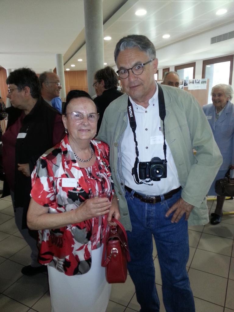 Madame Pétriment et Didier Maillac