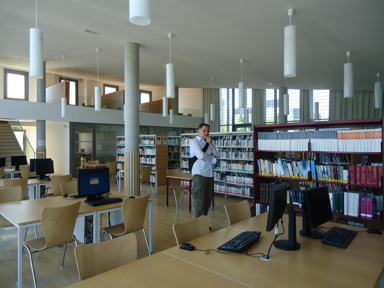 Salle de documentation.