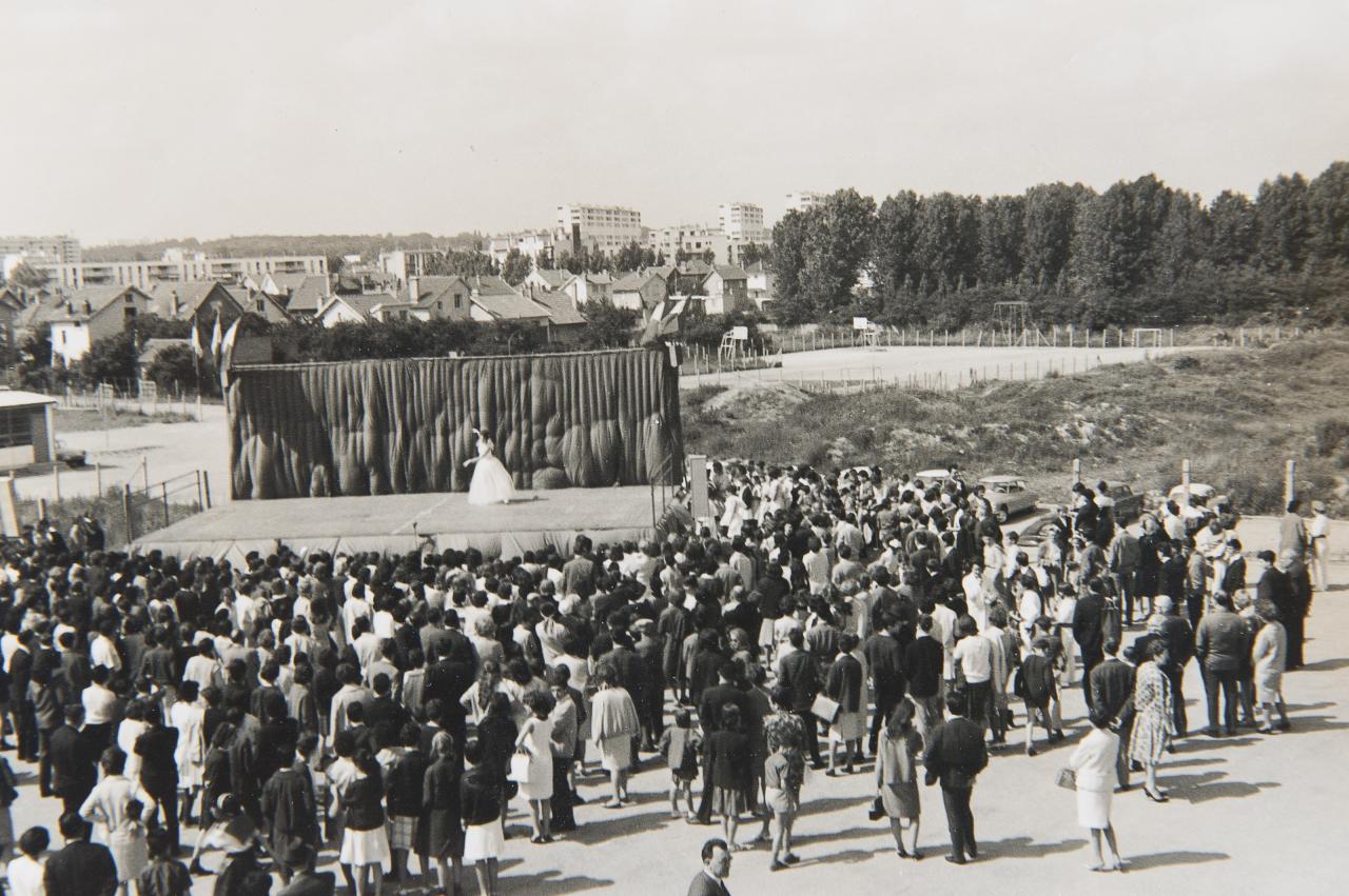 Fête au Lycée. Photo D.Maillac.