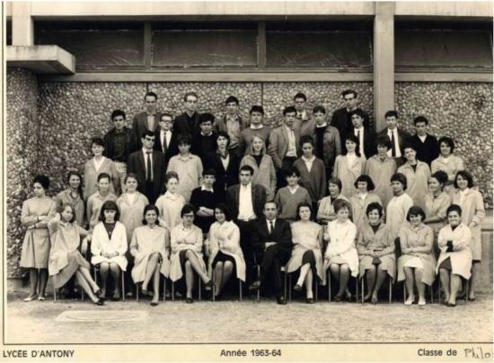 Philo 1963-64 avec Monsieur Garnier