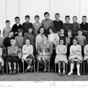 1959-60 6A6, avec Madame Viéthel (All)