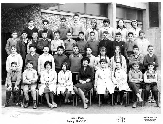 1960-61 5M3 avec Madame Costa