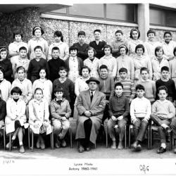 1960-61 6A6 avec Monsieur Segot.