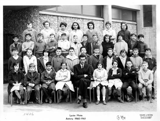 1960-61 6M4 avec Monsieur Robert.