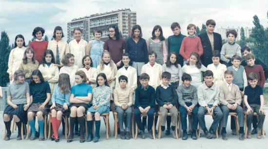1967-68 5ème A1