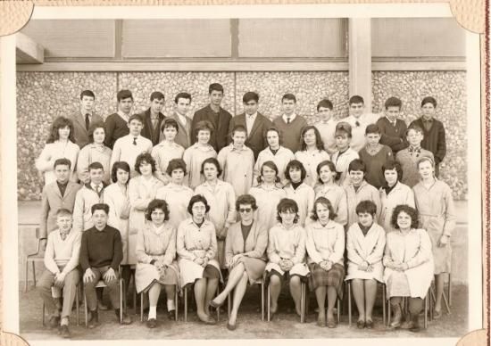 1962-63 3B5 avec Madame Chamla