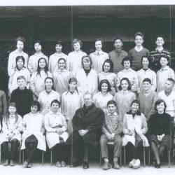 1961-62 4AB, avec Monsieur Rigoulet