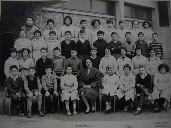 1960-61 5A5, avec Madame Viéthel (All)