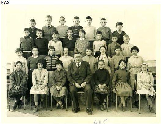 1959-60 6A5 avec Monsieur MAILLAC