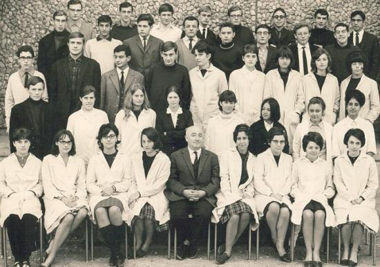 Scienc Ex1. 1965-66 avec Monsieur Elion