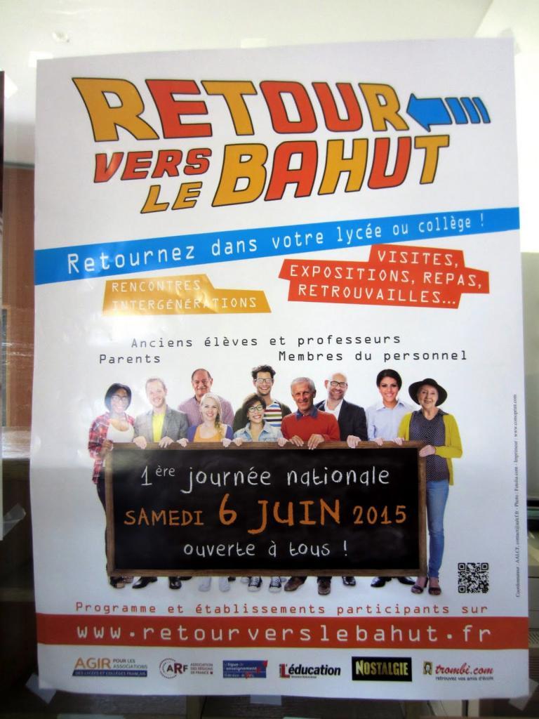 """L'événement. Premier """"Retour vers le bahut""""."""