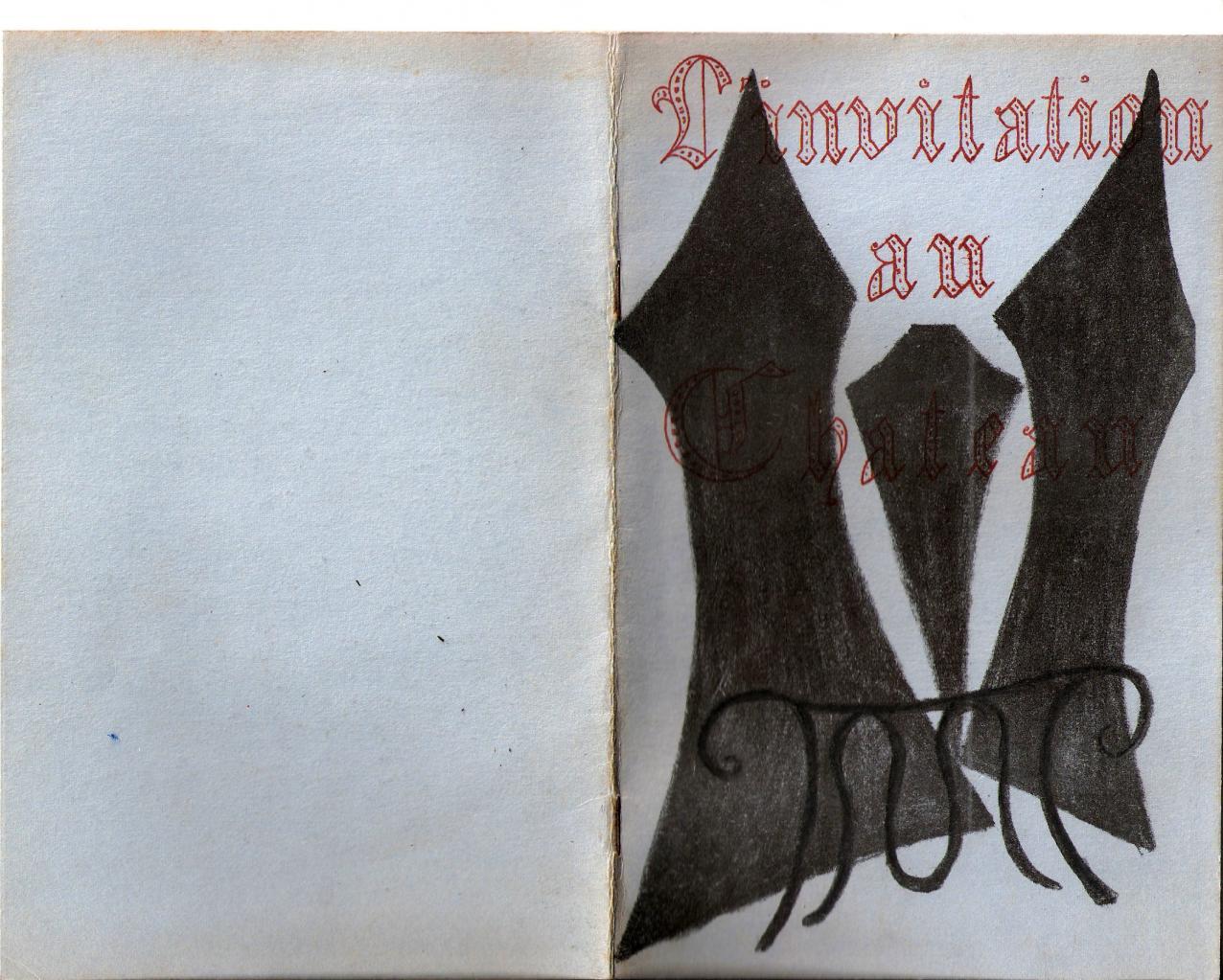 Programme 1963 des Arlequins