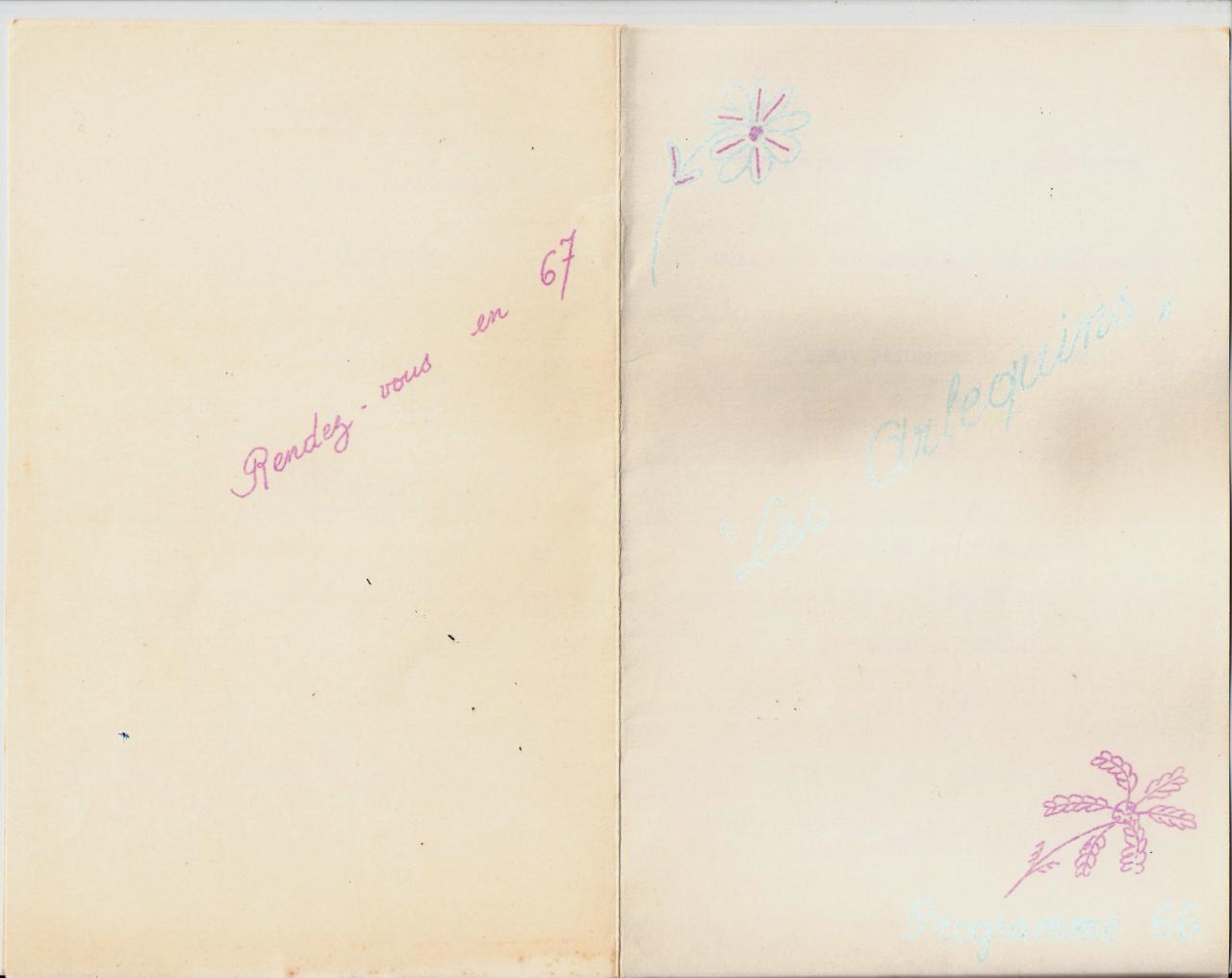 Programme 1966