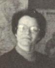 Madame Cagnon, professeur de Physique, en 1976