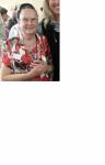 En 2014 : Madame Pétriment, professeur d'EPS et de danse.